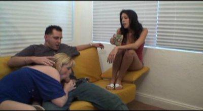 Slutty Best Friends Shares Wanking On A Fat Cock