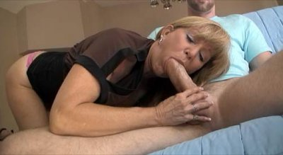 With her sweet pecker sucking skills! See this mature MOTHER smoke on that ...
