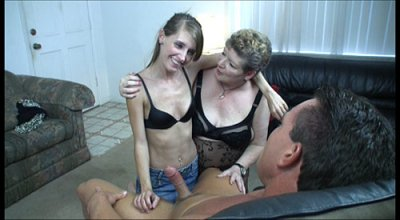College Bound Teenager Shares A Big Fat Dick With Her Mature Mother