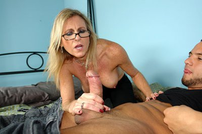 Check out these steaming hot and extra wild video updates from the newest amateur cock tugging site on the net, Over 40 Hand Jobs! It's a perv mom named Mrs. Jameson who loves jacking off a young handsome stud's monstrous cock! This mommy sure knows...