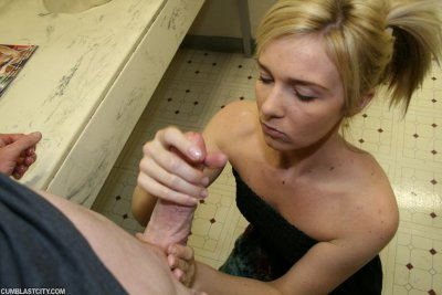 Teener Ericka Gets Jizzed On By A Slacker At Her Father's Office