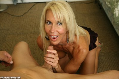 She maybe reaching the age of 50 but the blond granny featured in these pic updates can still make you jizz like crazy! Meet granny Erica, a blond cutie who is over 40 but can still hack it out with the nubile bitches out there. She has this insatia...