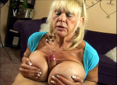 "Perverted cougar Shelly ""the burbank bomber"" gets off on jerking off huge dicks. She's a big busted granny with 44 JJJ melons and armed with a wicked talent of pleasuring a needy hard on! In these scorching hot teaser movies..."