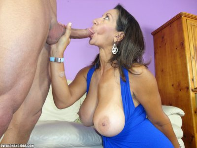 See this big busted and sexy brunette MILF who loves getting a big dick deep her throat and giving a lot of mature handjobs to make it burst it's creams right down her luscious body and nasty face! She's Persia Minor, but she's not a minor nor an in...