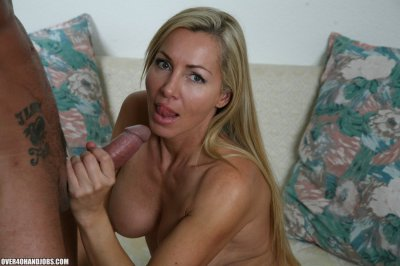 Blonde Lisa Is 40 Plus But Nevertheless One Sexy And Naughty Semen Junkie